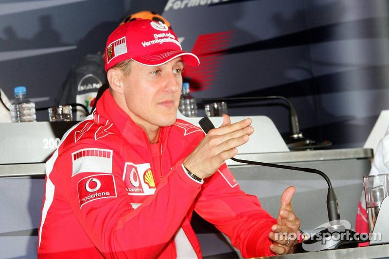 Conferencia de prensa FIA del jueves: Michael Schumacher
