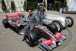 Juan Pablo et Kimi Räikkönen avec McLaren Mercedes