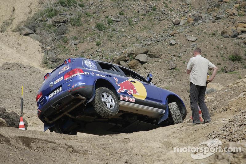 Red Bull: un Volkswagen Touareg