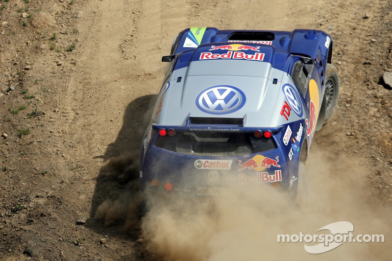 Red Bull: Christian Klien et Giniel de Villiers dans un Volkswagen Touareg