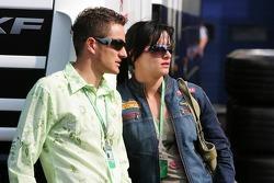 Timo Scheider ve eşi