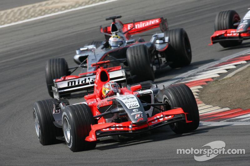 Tiago Monteiro et Juan Pablo Montoya
