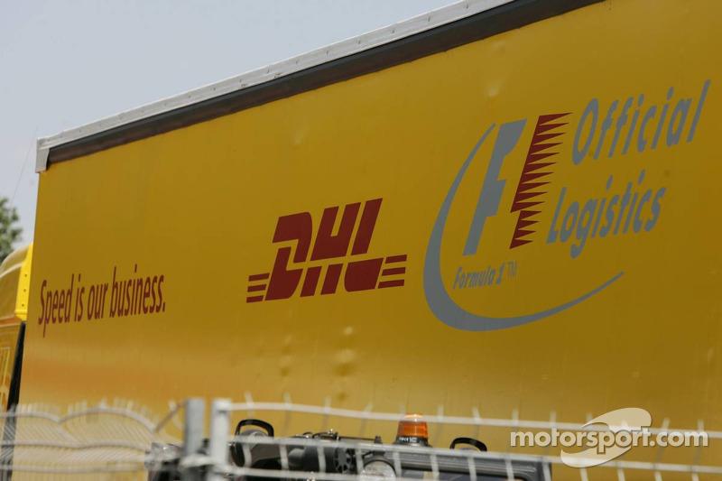 DHL Official le fournisseur logistique de la Formule 1