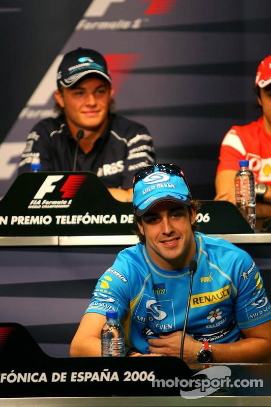 Conférence de presse de la FIA le jeudi: Fernando Alonso et Nico Rosberg