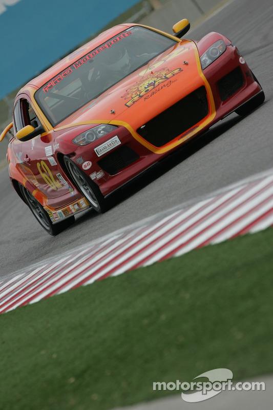 #62 Roar Racing Mazda RX-8: Rob Whitener III, Robert Deinerd, Nick Gurucharri