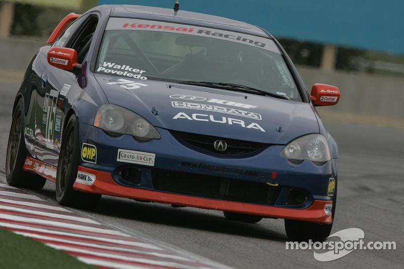 #75 Kensai Racing Acura RSX - S: Travis Walker, Aaron Povoledo