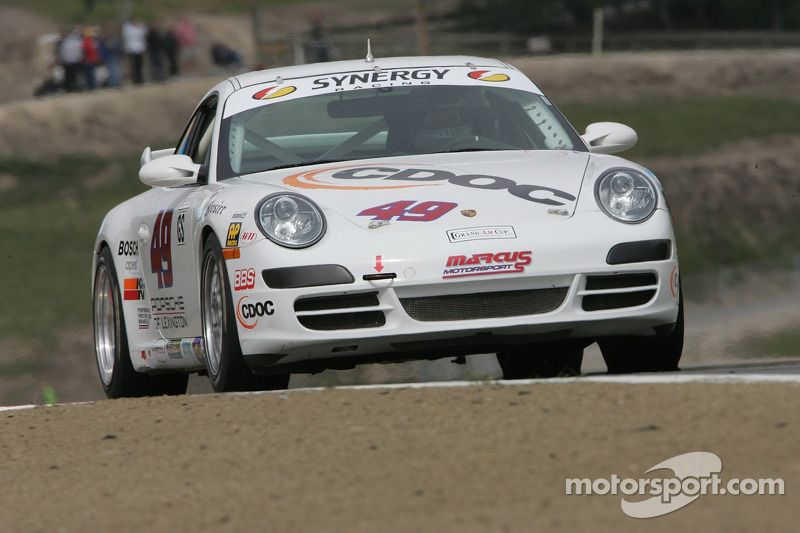 #49 Marcus Motorsports Porsche 997: Andy Lally, Spencer Pumpelly