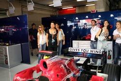 Formula Unas girls of Scuderia Toro Rosso