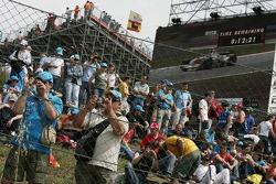 Fans at Circuit de Catalunya