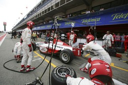 Alexandre Premat pit stop