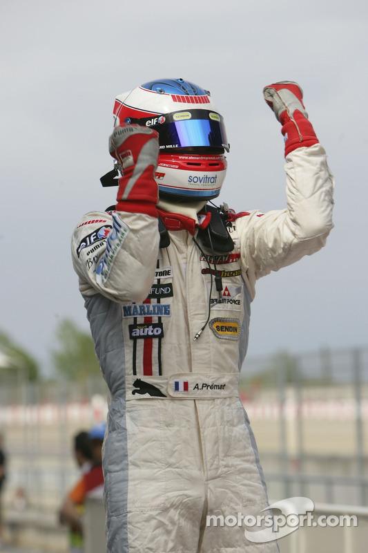 Alexandre Premat le vainqueur de la course