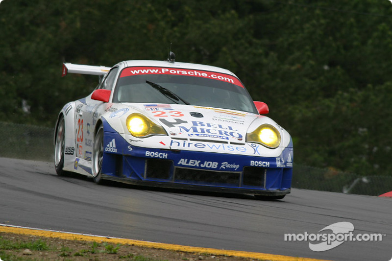 #23 Alex Job Racing Porsche 911 GT3 RSR: Mike Rockenfeller, Klaus Graf
