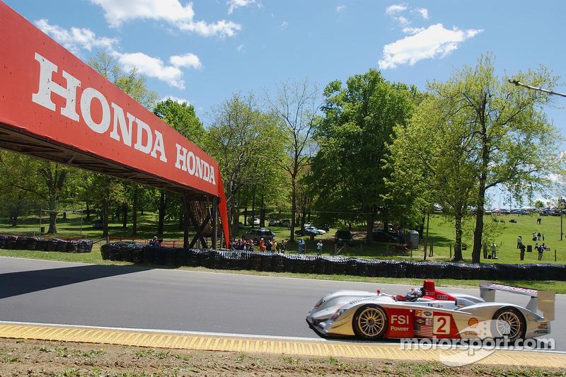 #2 Audi Sport North America Audi R8: Rinaldo Capello, Allan McNish