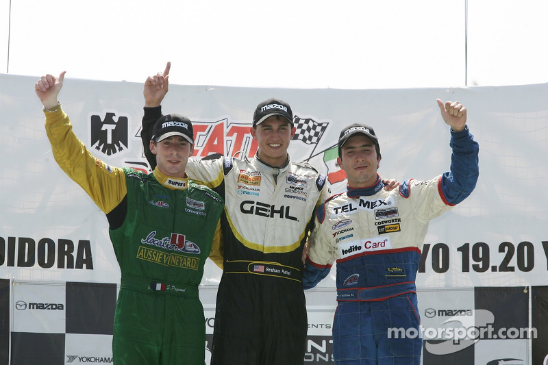 Simon Pagenaud, Graham Rahal, David Martinez