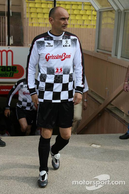 Match de football de charité: Gabriele Tarquini