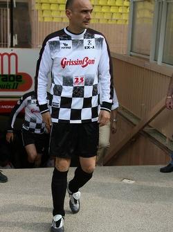 Charity football match: Gabriele Tarquini
