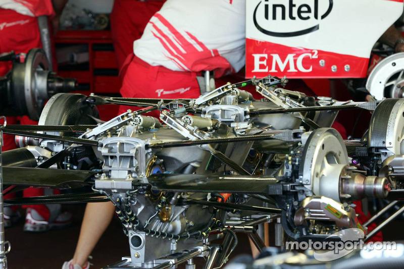 Boîte de vitesses de Toyota Racing