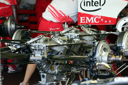 Gearbox of Toyota Racing