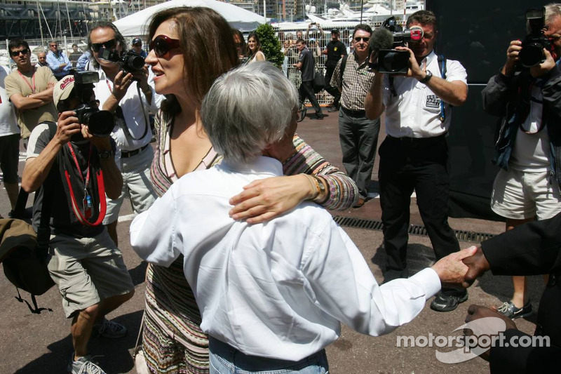 Bernie Ecclestone et Slavica Ecclestone