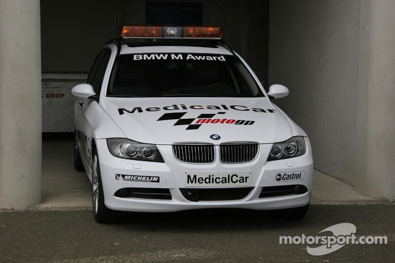 BMW M5 voiture médicale