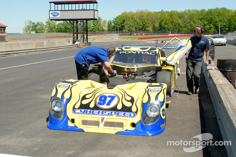 #97 Cyberspeed Racing Pontiac Riley: Skip Cummins