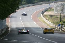 #7 Audi Sport Team Joest Audi R10: Allan McNish, Rinaldo Capello, Tom Kristensen, #63 Corvette Racing Corvette C6-R: Ron Fellows, Johnny O'Connell, Max Papis