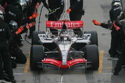 Kimi Raikkonen pits