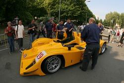Chamberlain - Synergy Motorsport Lola B06-10 AER at scrutineering