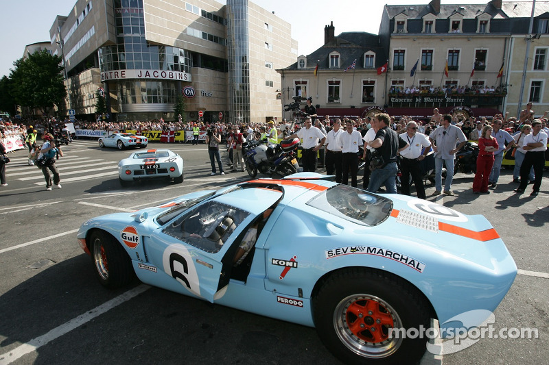 Une Ford GT 40