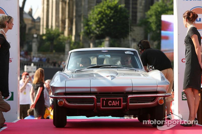Une Corvette d'époque