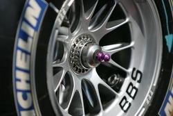 Detail of a Honda wheel