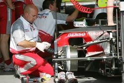 Toyota team member at work