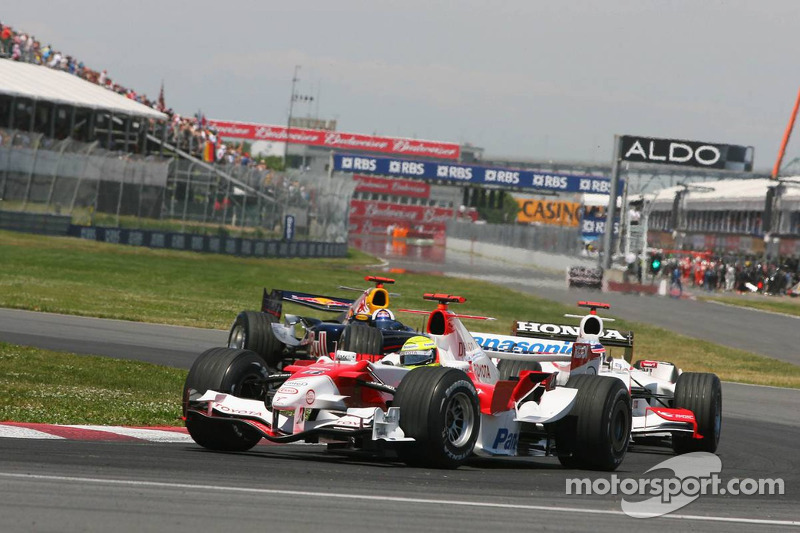 Ralf Schumacher et Takuma Sato