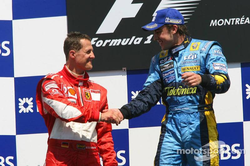 Fernando Alonso, 1º en el GP de Canadá 2006