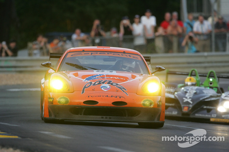 #81 Team LNT Panoz Esperante GTLM: Lawrence Tomlinson, Richard Dean, Tom Kimber-Smith