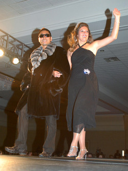 Roger Yasukawa and 500 Festival Queen Tracey Todd