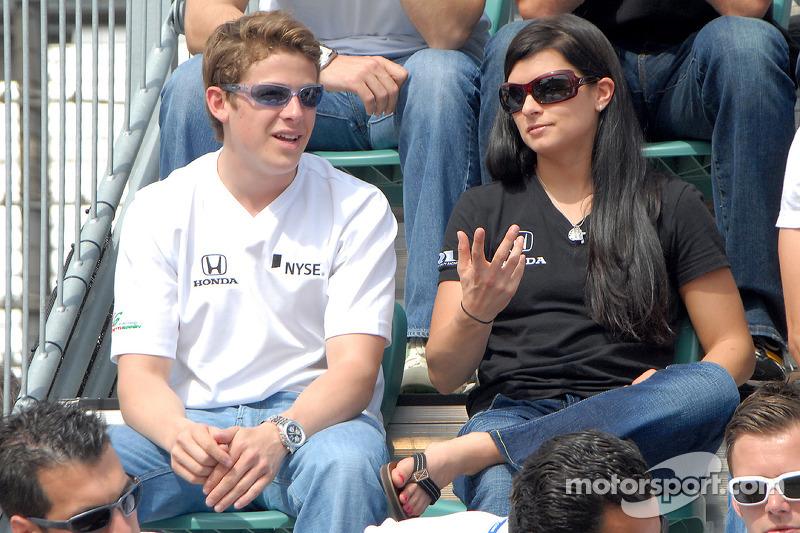 Marco Andretti et Danica Patrick