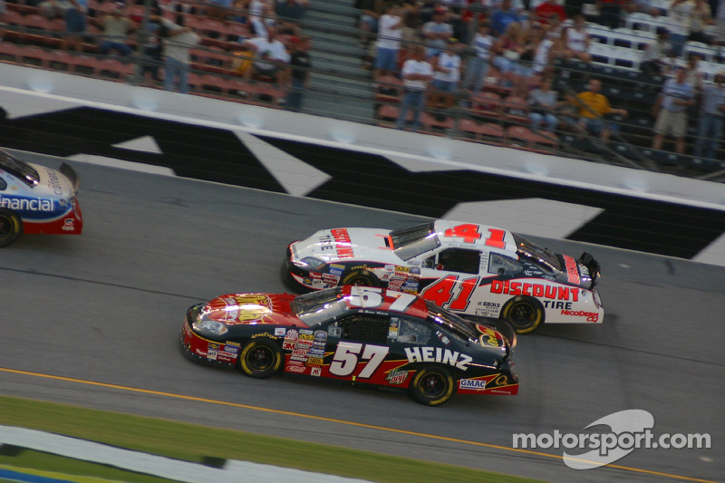 Brian Vickers et Reed Sorenson