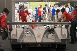 Audi Sport garage area