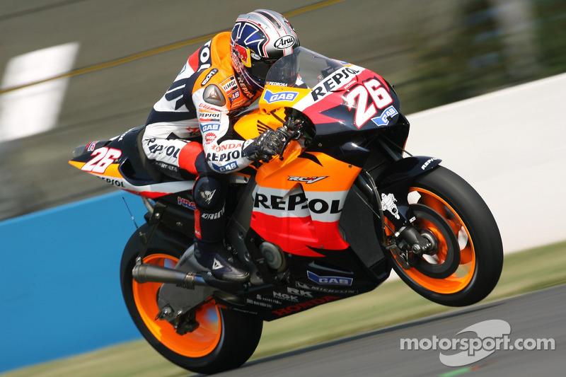 2006 - Donington: Dani Pedrosa, Honda RC211V