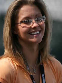 A.J. Allmendinger's fiancée Lynne Kushnirenko