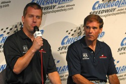 Jeremy Mayfield and Ray Evernham