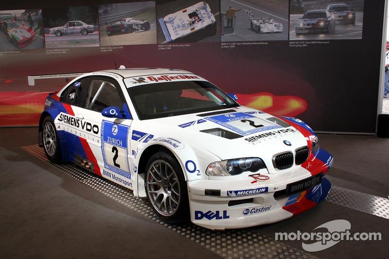 Show room BMW, BMW M3 GTR