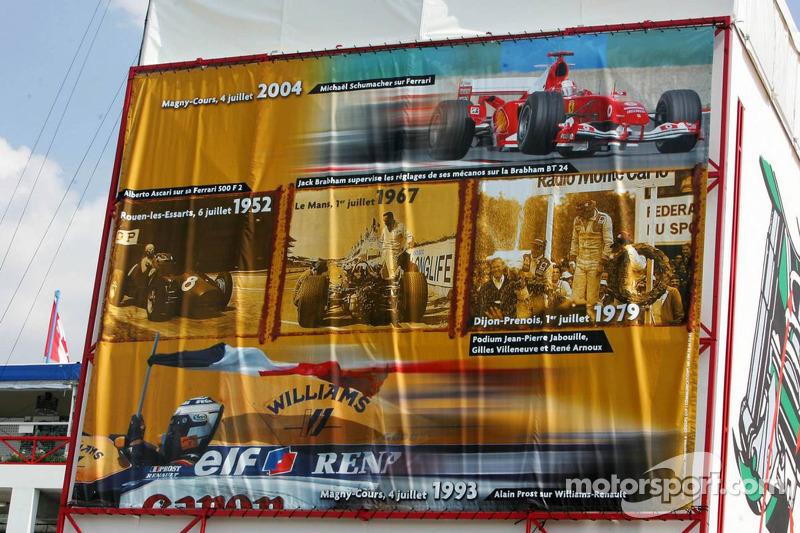 La France commémore sa 100ème année de Grand Prix