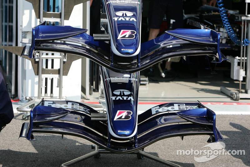 Williams a différents styles d'ailerons disponibles