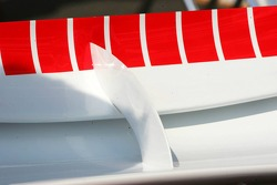 Bracket connecting the two rear wings on the Ferrari F2006
