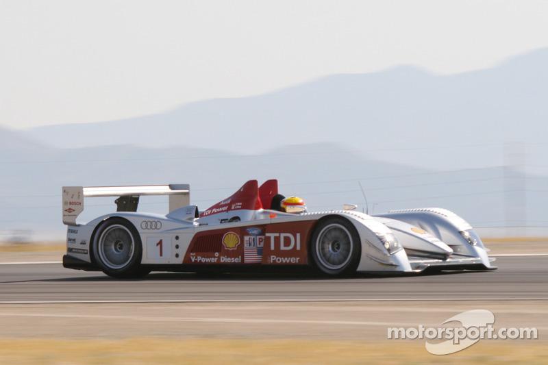 #1 Audi Sport North America Audi R10 TDI : Frank Biela, Emanuele Pirro