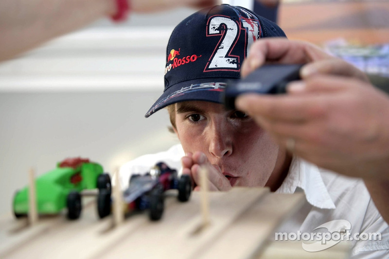 Red Bull le jeudi : Scott Speed et la Pinewood-Derby