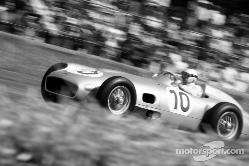 Mercedes Benz W196, Stirling Moss