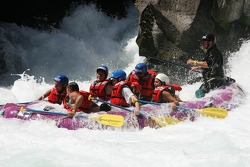 Aston Martin raft takes the biggest splash of the trail
